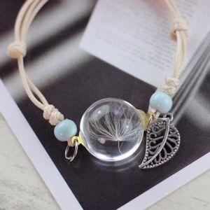 Jewelry - 🌸🌸 $5 SALE! 🌸🌸 Sanwood® Plant Specimen Glass